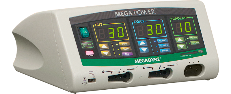 MEGADYNE™ MEGA POWER™ Electrosurgical Generator