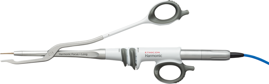 HARMONIC FOCUS®+ Long Curved Shears
